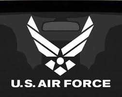 Air Force Decal Etsy