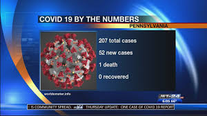 id 19 daily numbers 207 cases in pa