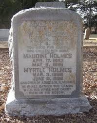 Myrtle Holmes (1896-1896) - Find A Grave Memorial