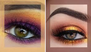 sunset eye shadow makeup trend