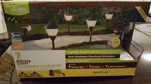 gardens 7 piece archdale quickfit led