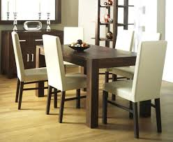 ivory leather dining room chairs parson