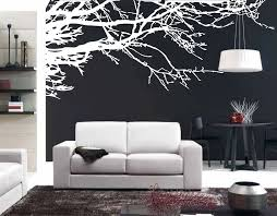 Mega Stunning Tree Branch Removable Wall Art Stickers Vinyl Mural Home Decor Black White Tree Chinese Style Landscape Painting Wall Art Stickers White Treetree Branch Aliexpress