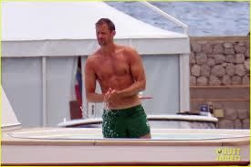 Alexander Skarsgard Flaunts Sunburned Body on a Yacht!: Photo ...
