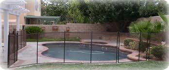 Removable Inground Pool Safety Fence Installation Intheswim Pool Blog