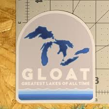 Great Lakes Vinyl Decal Water Bottle Laptop Notebook Etsy