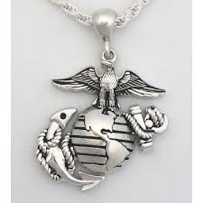 and jewelry marine corps necklace