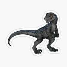 Velociraptor Stickers Redbubble