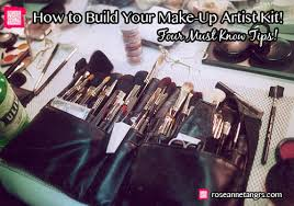 how to build your make up artist kit