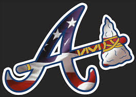 Free Atlanta Braves American Flag Decal Full Color Free Shipping Use Gin And Get 2 Accessories Listia Com Auctions For Free Stuff