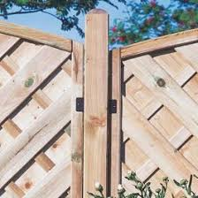 Forest 6 X 1 Diamond Lattice Trellis Fence Topper 1 83m X 0 3m B M