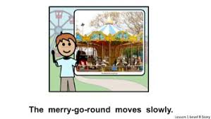 Unique Learning System-Zach and Addie's day at the Amusement Park Lesson  PPT.