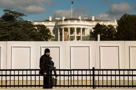 With Non Scalable Fence White House Barricades Itself In