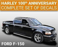 2003 Ford F 150 Harley Davidson 100th Anniversary Vinyl Stripes Decals 502 Ebay