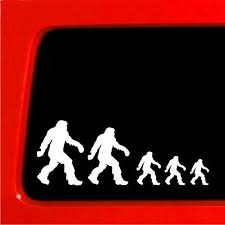 Sasquatch Stick Figure Family Bigfoot Vinyl Decal Sticker Funny Nobody Stickerconnection