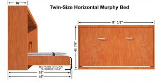 vertical murphy bed kit