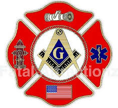 Masonic Maltese Cross Vinyl Decal Sticker Usa Firefighter Mason Fire Co Lodge Ebay