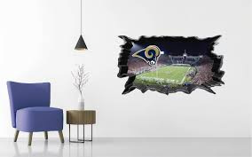 Los Angeles Rams Wall Decal Egraphicstore