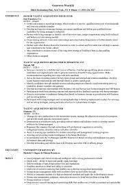 talent acquisition recruiter resume