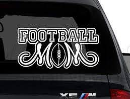 Amazon Com Best Design Amazing Football Mom Car Decal Accessories Vehicle Decals Sports Decals Vehicle Stickers Truck Decal Moms Gift Mothers Day Present Made In Usa Home Kitchen