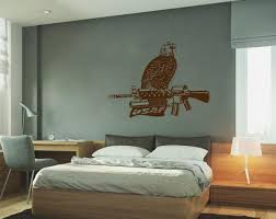 Ik739 Wall Decal Us Army Eagle Gun Weapon Bedroom Bedroom Living Kids Ebay
