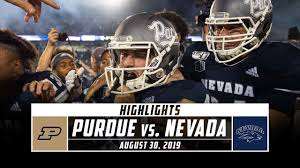 Purdue vs. Nevada Football Highlights ...