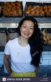 Jackie ellis, a chinese business woman running beaucoup bakery in Stock  Photo - Alamy
