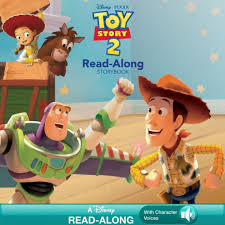 toy story 2 read along storybook by