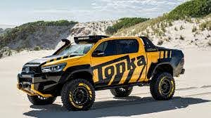 2017 Toyota Hilux Tonka Concept With Tire Stickers Youtube