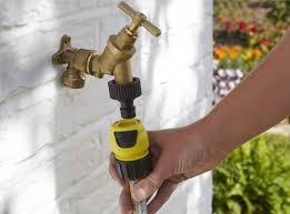 tap adaptor karcher garden hose connector