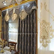 Thick Chenille Fabric Bedroom Curtain In Victorian Curtain Not Included Valance