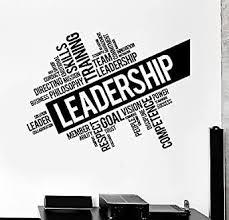Vinyl Wall Decal Leadership Words Cloud Teamwork Success Stickers Vs4495 Amazon Com Industrial Scientific