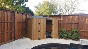 Trash Can Enclosure Fences Pool Equipment Enclosure Fences