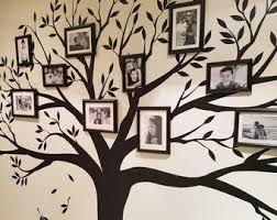 Family Tree Wall Decal Etsy