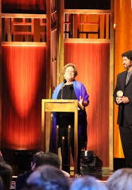 File:Abby Ginzberg accepts the Peabody Award, May 2015.jpg ...
