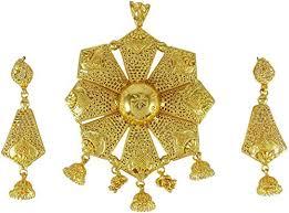com banithani 18k goldplated