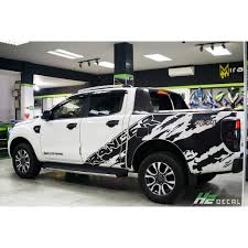 Ford Ranger Vinyl Graphic Decals Kit 003