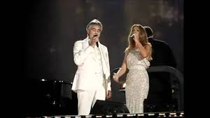 Celine Dion and Andrea Bocelli live in Central Park (The Prayer ...