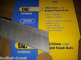 tacwise 16 gauge 20 degree angled brads