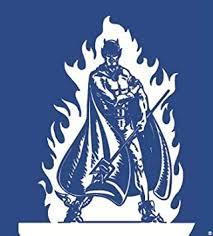 Amazon Com 2 Inch Devil Logo Decal Duke University Blue Devils Removable Wall Sticker Art Ncaa Home Room Decor 2 1 4 Inches Square Baby