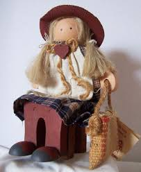 "Lizzie High Ladie & Friends 1986 ""Abigail Bowman"" wooden Doll | Handmade  wood, Wooden dolls, Handmade"