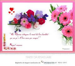 Cartoline per fare gli auguri per la festa della mamma