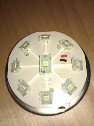 brighter led light in ceiling fan