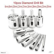 drill bit set 6mm 30mm for tile ceramic