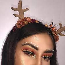 makeup eyeshadow pretty and reindeer