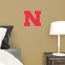 Nebraska Cornhuskers Ncaa Bedroom Wall Decal Vinyl Room Sports
