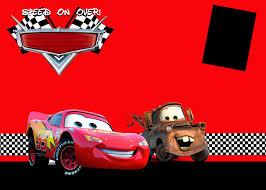 Carsinvitations Png 1600 1143 Cars Birthday Invitations Cars