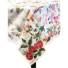 multi cotton and polyester tablecloth