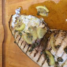 Grilled Swordfish with Lemon and Capers ...