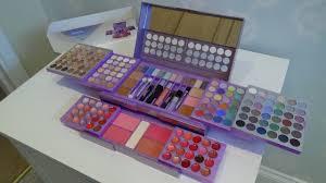purple mega make up cosmetic set